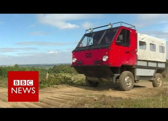 F1 engineer makes 'first flat-pack truck' - BBC News - YouTube