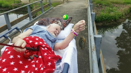 Veteran Catches Final Fish as Dying Wish - Wired2fish - Scout