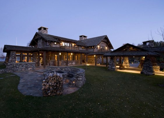 Minnesota Lake Lodge — Style Estate