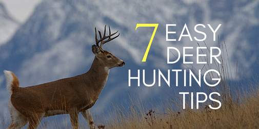 7 Insanely Simple Deer Hunting Tips