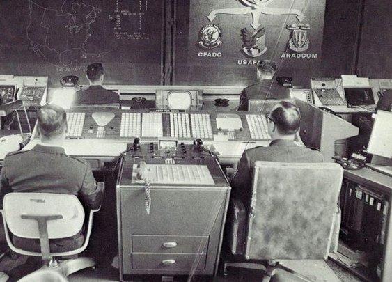 Rare Photos From Inside NORAD Will Give You Retro-Armageddon Nostalgia
