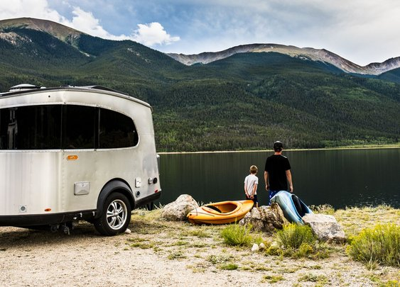 Airstream Basecamp is the smaller, lighter version of the iconic silver bullet
