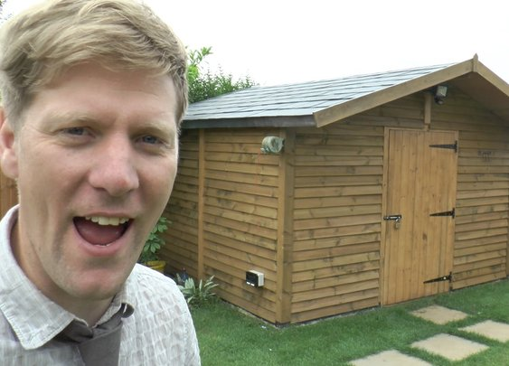 How to build a really SOLID shed