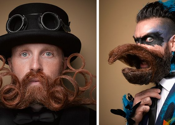 10+ Of The Most Epic Entries From The 2016 National Beard And Moustache Competition | Bored Panda