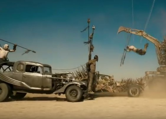 Here's what Mad Max: Fury Road looks like without any CGI