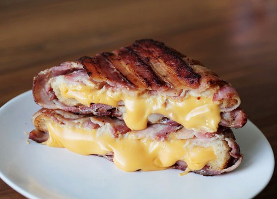 Bacon-Wrapped Grilled Cheese