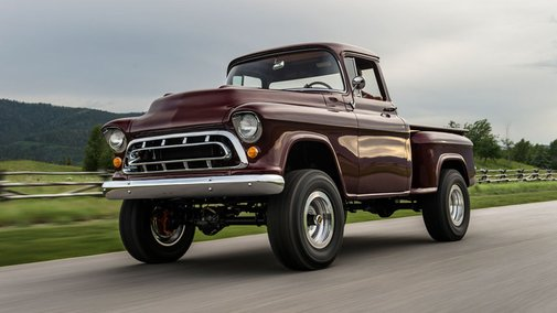 Legacy Classic Trucks returns with 1950s Chevy NAPCO 4x4 | Fox News