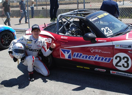 The 21-Year-Old Who Turned Video Games into a Real Racing Career