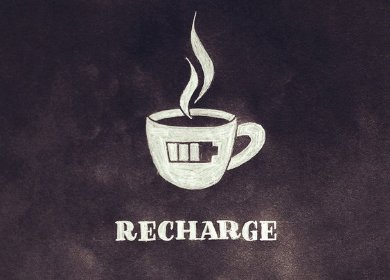 Recharge | hand lettering by seanwes