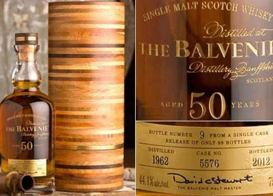 Cask 5576, a Limited-Edition 50-Year-Old Whisky, by The Balvenie | Baxtton