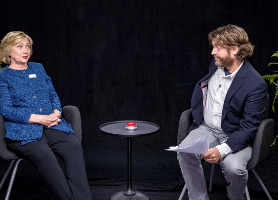 Between Two Ferns: Hillary Clinton