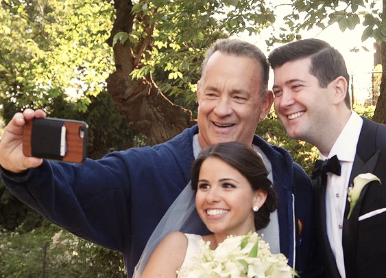 Tom Hanks Crashes Our Wedding