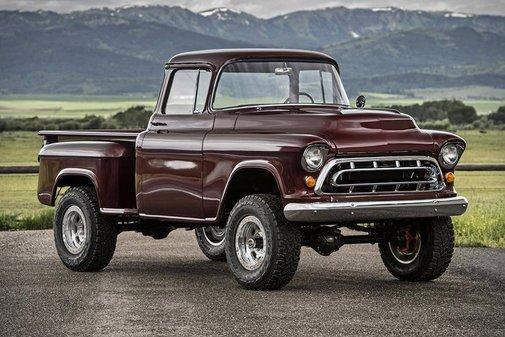 1957 Chevrolet Legacy Napco Truck | Uncrate