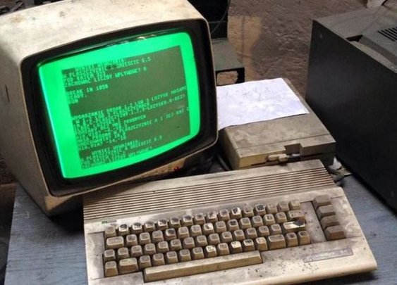 Commodore 64 Still Used to Run an Auto Shop in Poland