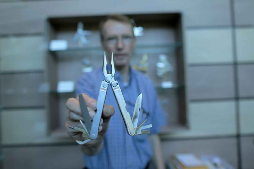 Tim Leatherman, Mr. Multi-Tool Himself, Gives A Factory Tour