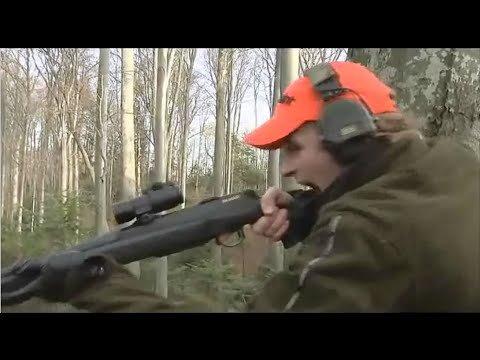 Hunter vs Bear — A Growling Match
