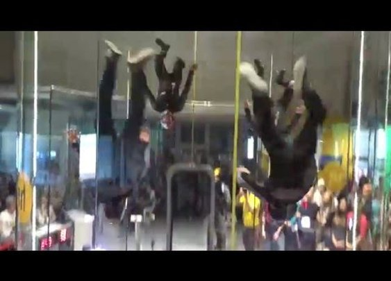 "1st FAI World Indoor Skydiving Championship - Silver Medallists - Czech Team ""MAD RAVENS"" - YouTube"