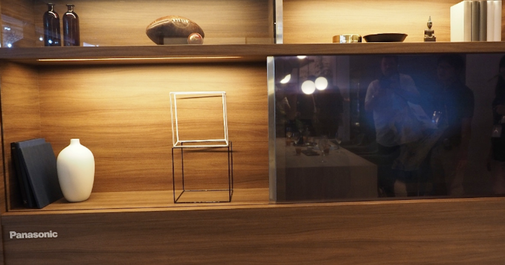 Futuristic 'invisible TV' turns TRANSPARENT when you're not watching it - leaving just a pane of glass - Mirror Online