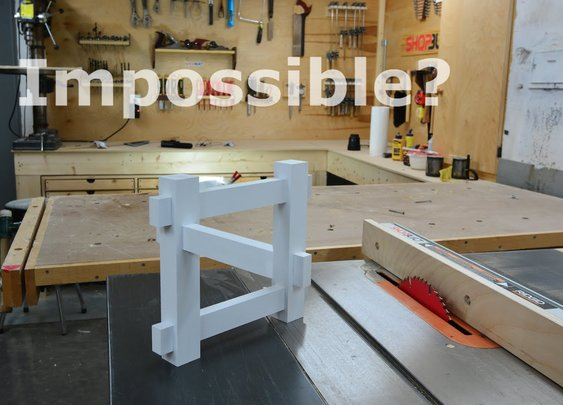 How to Build an Optical Illusion In Your Woodshop