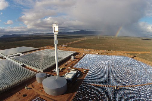 First farm to grow veg in a desert using only sun and seawater