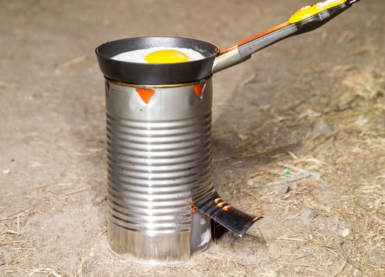 Build a Simple Camp Stove from a Tin Can