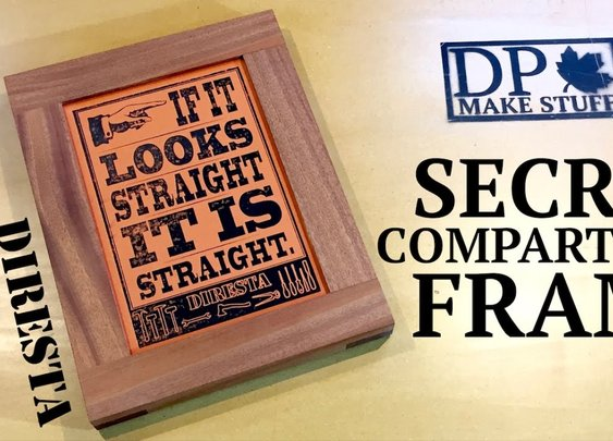 Make It - Secret Compartment Frame