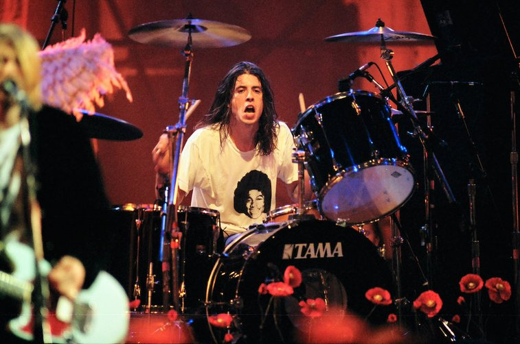 Watch Dave Grohl Play His First Gig With Nirvana