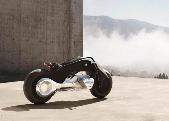 BMW Vision 100 Motorcycle: Two-Wheeling in the Next 100 Years