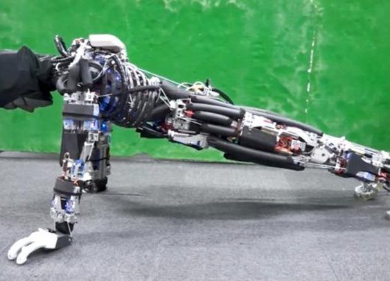 This Robot Can Do More Push-Ups Because It Sweats
