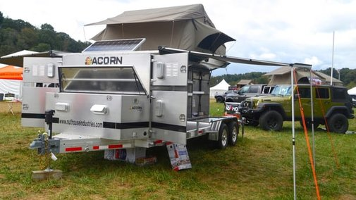 Aluminum camping trailers sleep you and your 4x4