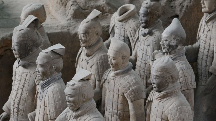 Ancient Greeks may have helped design China's Terracotta Army