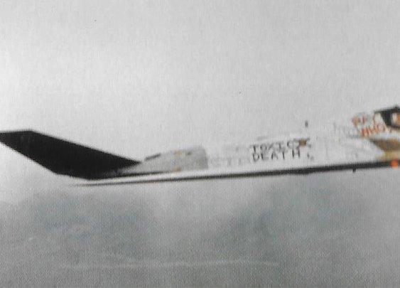 """The """"Toxic Death""""  F-117 Nighthawk"""