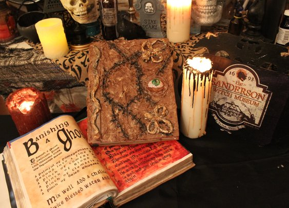 Recreate the Spooky Spell Book from Hocus Pocus