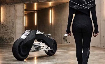 BMW reveals amazing Motorrad Vision Next 100 bike