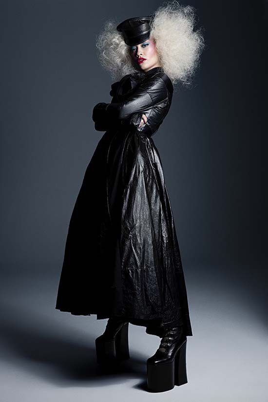 Rita Ora Gets Glam For Paper Magazine #LivingForFashion Issue