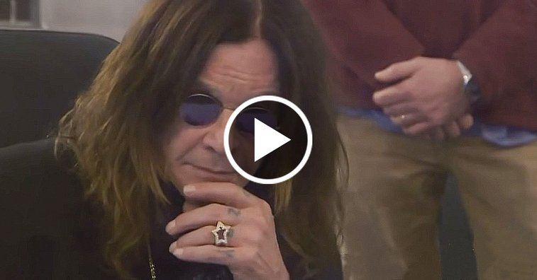 """Ozzy Osbourne Hears """"Crazy Train"""" Master Tape For The First Time"""