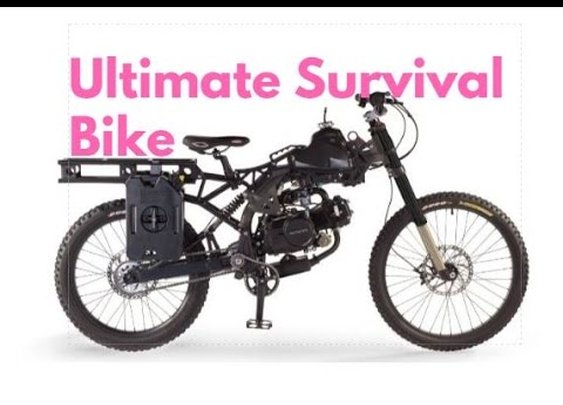 The Ultimate Bug Out Bike and a Budget Friendly Alternative - YouTube