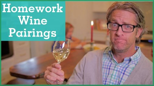 Pairing Wine with Homework