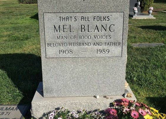 The Tombstones of 25 Famous People