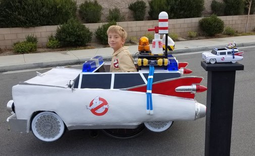 Ghostbusters Ecto1 Wheelchair Halloween Costume