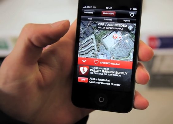 Heart attack app could save your life