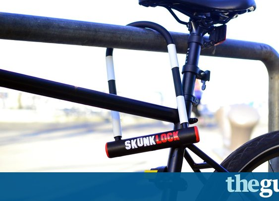 Bike lock developed that makes thieves immediately vomit | Life and style | The Guardian