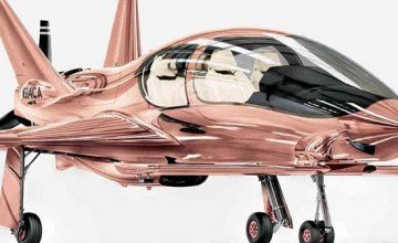 Cobalt Valkyrie X Rose Gold Private Plane