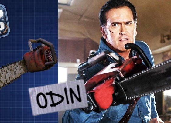Evil Dead Chainsaw Hand - DIY PROP SHOP