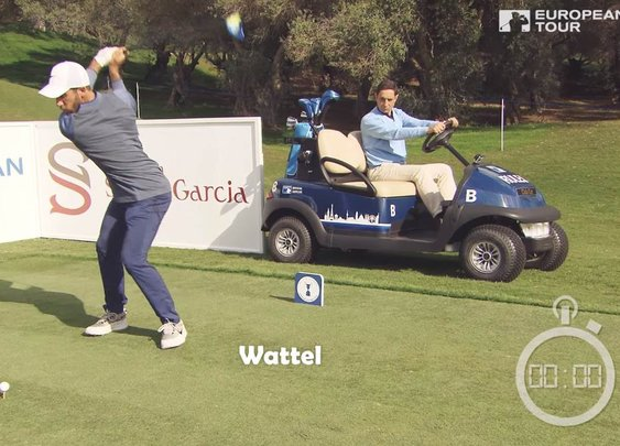 Four Professional Golfers Set Guinness World Record for the Fastest Hole of Golf Ever Played