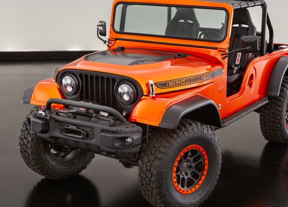 Jeep Built A Modern CJ-6 And It Looks Incredible