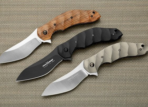 FOX Anso Flipper Folding Knife