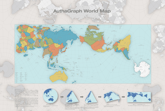 A More Accurate World Map Wins Prestigious Japanese Design Award