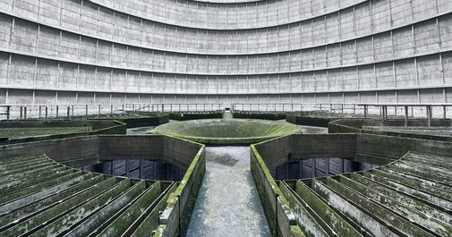 Wanna Feel Small? Step Into an Abandoned Cooling Tower