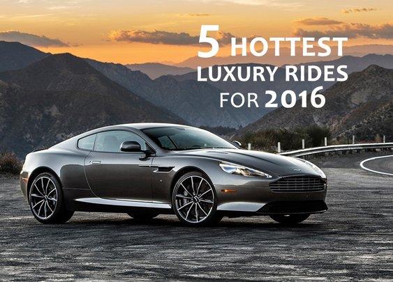 5 Hottest Luxury Rides for 2016 - Bonjourlife